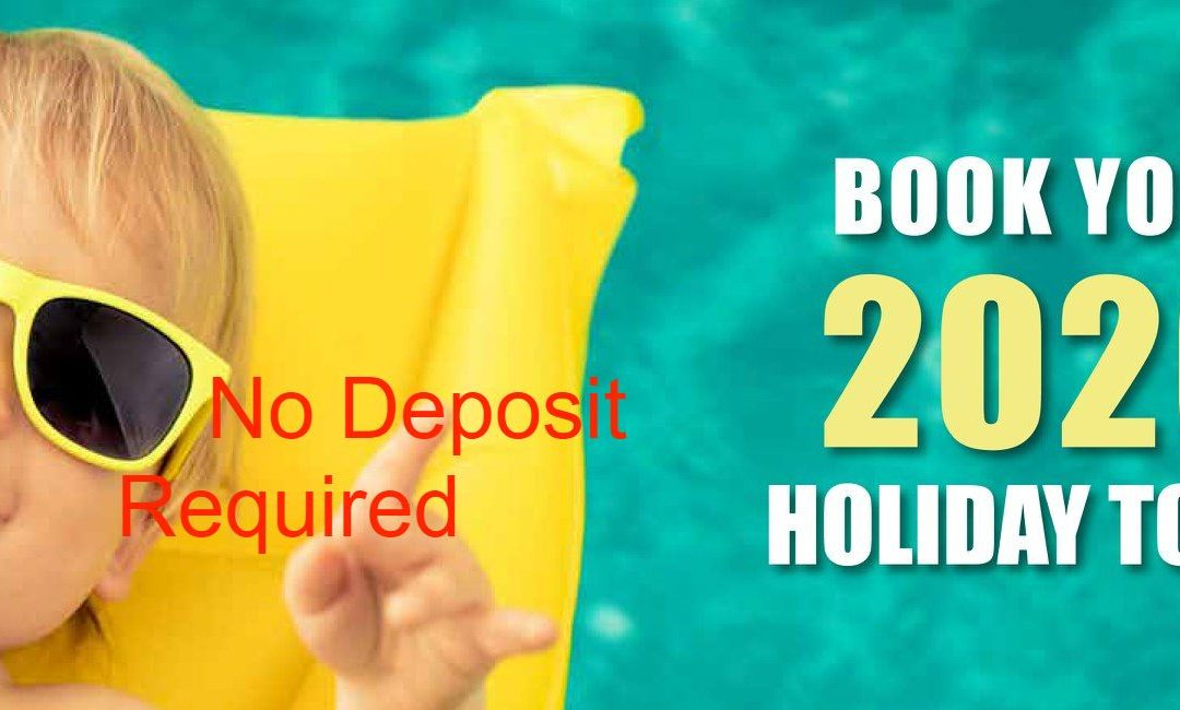 BOOK NOW & PAY NO DEPOSIT